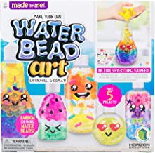 Made By Me Water Bead Art by Horizon Group USA, DIY Non Toxic Kids Sensory Play Activity Kit.Layer Expanding Water Beads i...