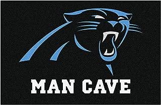 FANMATS 14277 NFL Carolina Panthers Nylon Universal Man Cave Starter Rug
