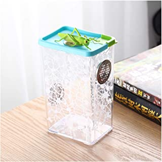 crapelles Breathable Colored Insect Mantis Outdoor Science and Natural Animal Exploration Tools Butterfly Spider Bottle Fr...