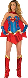 DC Comics Deluxe Supergirl Costume With Boot Covers