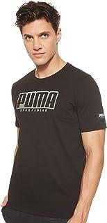 تي شيرت رياضي للرجال من بوما بتصميم شعار كبير