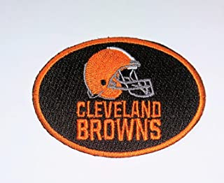 GIANTS iron on embroidered EMBROIDERY patches patch SIZE 2.8 X 2.2 INCHES FOOTBALL NY
