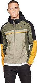 G-Star RAW Men's Colour Block Hooded Jacket