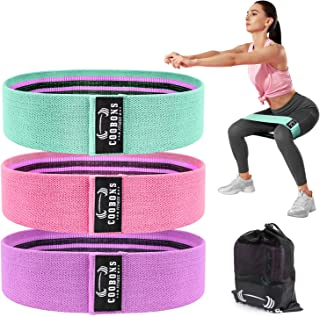 Resistance Bands for Legs and Butt,Exercise Bands Set...
