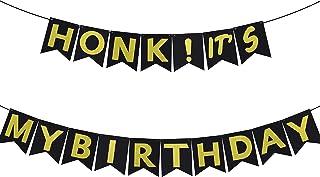 Tuoyi HONK Birthday Party Decorations, HONK IT'S My Birthday Banner