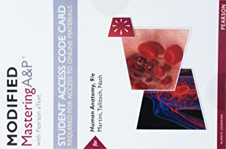 Modified Mastering A&P with Pearson eText -- Standalone Access Card -- for Human Anatomy (9th Edition)