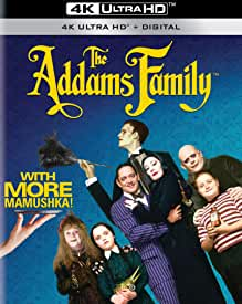Beloved Classic THE ADDAMS FAMILY arrives on Digital 4K Oct. 19 and on 4K Blu-ray Nov. 19 from Paramount