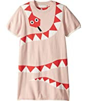 Stella McCartney Kids - Short Sleeve Snake Sweater Dress Early (Toddler/Little Kids/Big Kids)