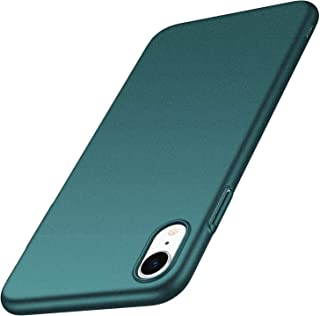 Anccer Compatible for iPhone XR Case Colorful Series Ultra-Thin Fit Premium Material Slim Cover for Apple iPhone XR 6.1 inch (Gravel Green)