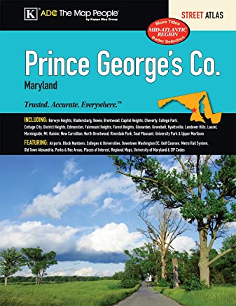 Prince Georges County, MD Street Atlas