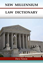 New Millennium Law Dictionary