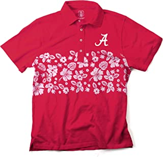 Alabama Crimson Tide Short-Sleeve Polo Shirt Cotton//Poly Luxury Blend