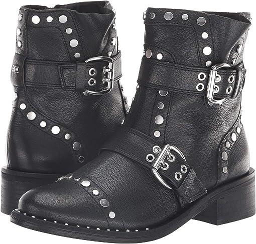 Black Diablos Tumble Leather