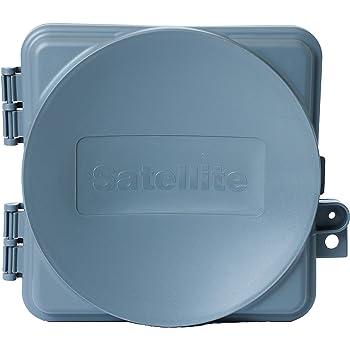 Satellite Coax Demarcation Enclosure Box