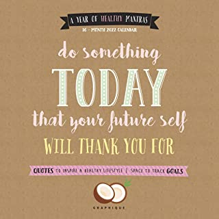 Graphique Your Future Self Wall Calendar, 16-Month 2022 Wall Calendar with Monthly Motivational Messages, 3 Languages & Ma...