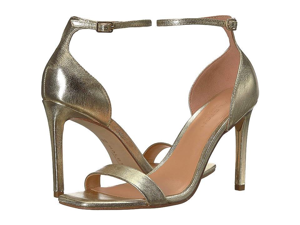 Halston Heritage Myra Heels (Gold Metallic) Women