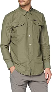 All Terrain Gear by Wrangler Long Sleeve Mixed Material Shirt Camisa para Hombre