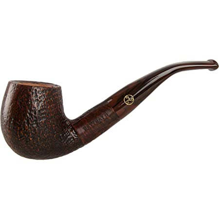 Rattray/'s Raven 124 Rustic Tobacco Pipe