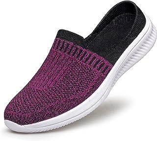Slip-On Mule Sneakers Women Shoes Runners Slippers Slides...