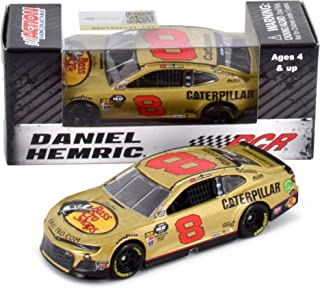 Lionel Racing Daniel Hemric 2019 RCR 50th Anniversary Gold Bass Pro Shops/Caterpillar NASCAR Diecast Car 1:64 Scale