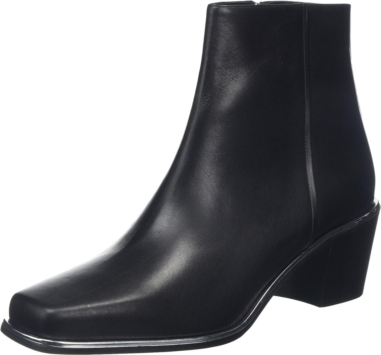 HUGO Women's Ankle Boots 返品不可 Black 001 期間限定お試し価格 Big 5 Kid
