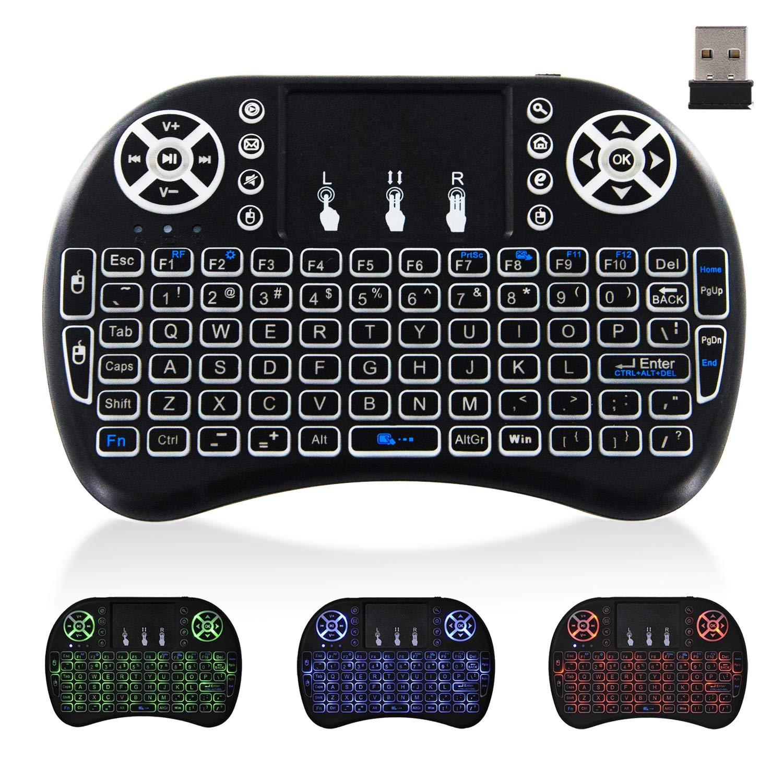 Mini Wireless Keyboard TouchPad Computer