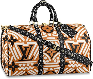 Louis Vuitton LV Crafty Keepall 45 Bandouliere Travel Bag Luggage M45473