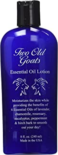 Two Old Goats Essential Oil Lotion, 8 Fl. Oz (Pack of 2)