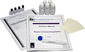 Innovating Science Paper Chromatography Kit to Separate Chemical Substances