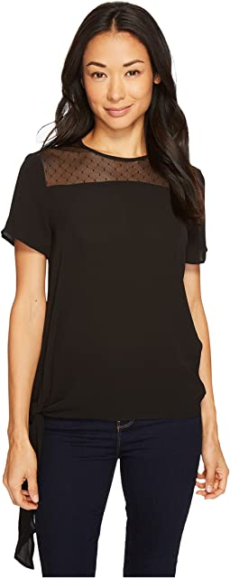 MICHAEL Michael Kors - Side Tie Top