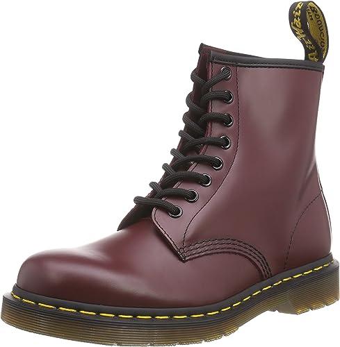 Dr. Martens - botas para mujer, Color Morado púrpura (púrpura Smooth)