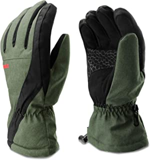 Venoro Ski Gloves, Cold Weather Waterproof Touchscreen Warm Gloves for Men Women