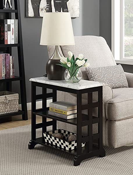 Indoor Multi Function Accent Table Study Computer Home Office Desk Bedroom Living Room Modern Style End Table Sofa Side Table Coffee Table Black Table And Chair