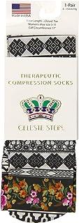 Celeste Stein Therapeutic Compression Socks, Nan, 8-15 Mmhg, Mild