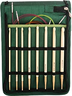 Knitter's Pride KP900586 Bamboo Interchangeable Tunisian Crochet Hook Set