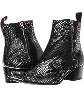Jeffery-West - Sylvian Double Metal Zip Boot