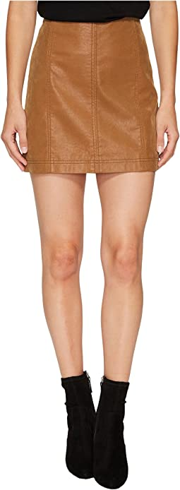 Free People - Modern Femme Vegan Suede Mini Skirt