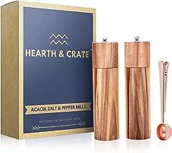Best tall wooden salt and pepper grinders Reviews