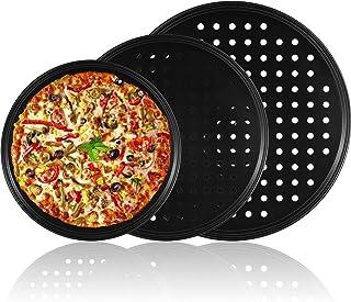 Round Non-Adhesive Pizza 11 12 13 35.6cm Tray Tin Pan Tin Cans