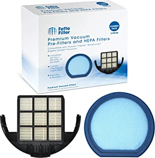 Fette Filter - Vacuum Filter Set Compatible with Hoover T-Series WindTunnel Bagless Upright - Compare to Part # 303173001 and 303172002 (1-Pack)