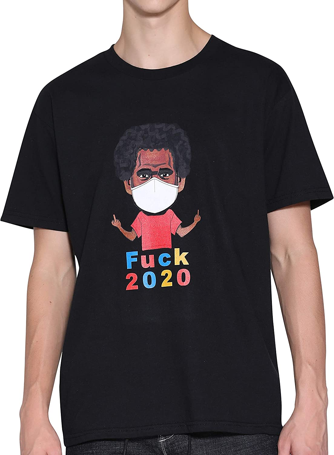 Tricle Fuck 2020 Funny Graphic T Shirt For Men Cartoon Tees Short Sleeve Pure Cotton Mens T Shirts Tops For Boys Amazon Com