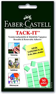 Faber-Castell TACK-IT Removable Adhesive - Pack of 90 pcs.