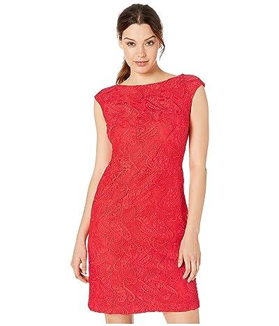 LAUREN Ralph Lauren Cithya Dress (Summer Poppy) Women