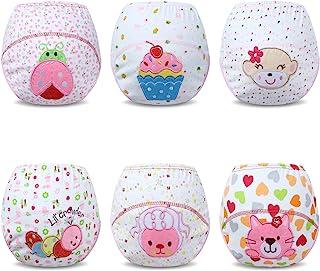 Calzones de Entrenamiento para Bebé Niña Paquete de 6
