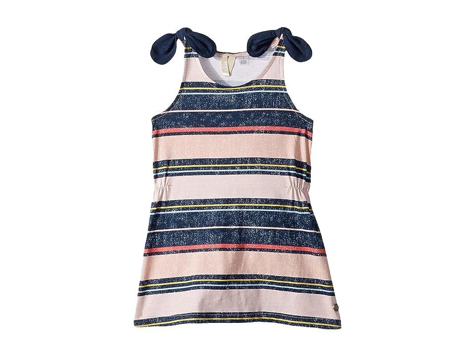 Roxy Kids My Light Out Dress (Toddler/Little Kids/Big Kids) (Dress Blues Borderhopping Stripe) Girl