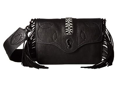 Rebecca Minkoff Joni Small Shoulder (Black) Shoulder Handbags
