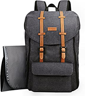 Hap Tim Travel Baby Diaper Bag Backpack, Large Capacity/Easy Organize/Comfortable/Fashion Cool Gift for Newborn Mother Father(Darkgrey 5312)