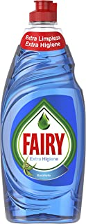 Fairy Extra Hygiene Liquid for Dishwasher Eucalyptus 500 ml – 8 Packs – Total: 4000 ml