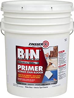 Rust-Oleum Corporation 270978 Advanced Synthetic Shellac Primer, 5-Gallon, White