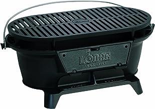 Lodge L410 Cast Iron Sportsman's Grill, Black